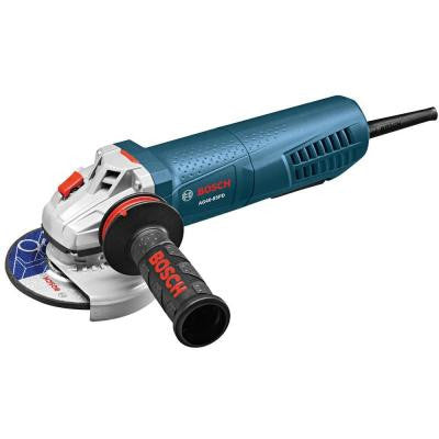 8.5-Amp 4-1/2 in. Angle Grinder with Paddle Switch