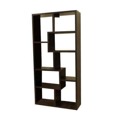 Contemporary 8-Shelf Cube Bookcase