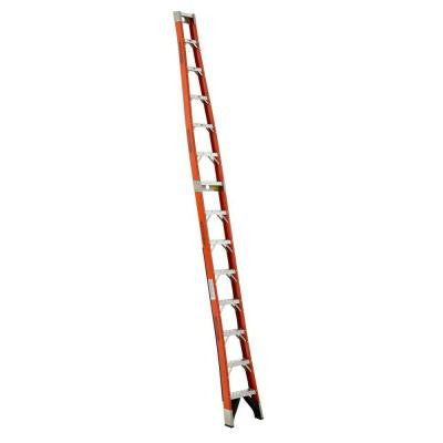 14 ft. Fiberglass Tapered Posting Extension Ladder with 300 lb. Load Capacity Type IA Duty Rating