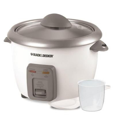 6-Cup Rice Cooker in White