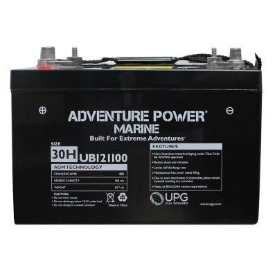 Series 30H, 12-Volt Marine Post Battery