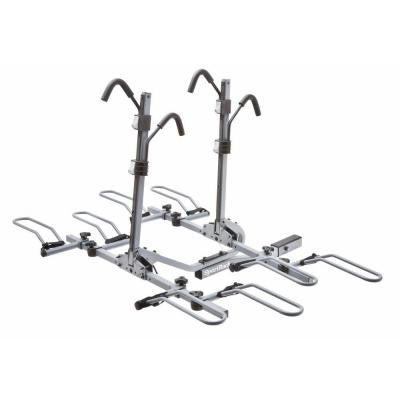 SportRack 4-Bike Lock and Tilt Platform Hitch Rack