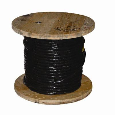 1000 ft. 4-1 Stranded USE-2 Aluminum Cable - Black