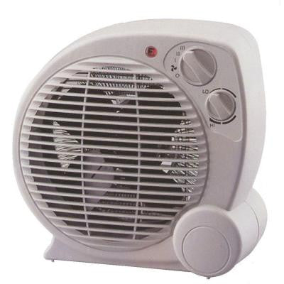 1500-Watt Fan Forced Electric Portable Heater with 3-Power Selections