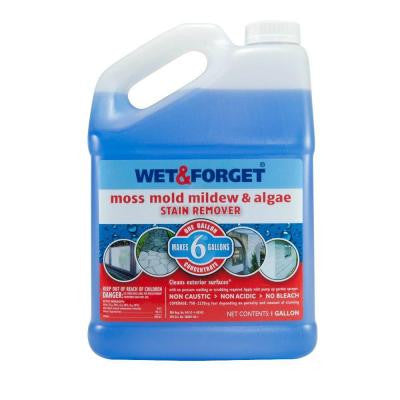 1 gal. Moss Mold Mildew and Algae Stain Remover