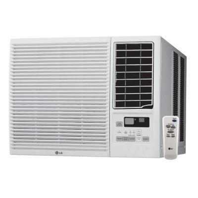 7,000 BTU Window Air Conditioner with Cool, Heat and Remote