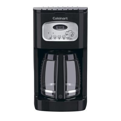 12-Cup Programmable Coffee Maker in Black