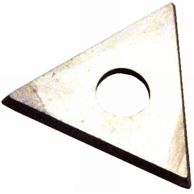 3 Edge Triangle Carbide Repl Blades