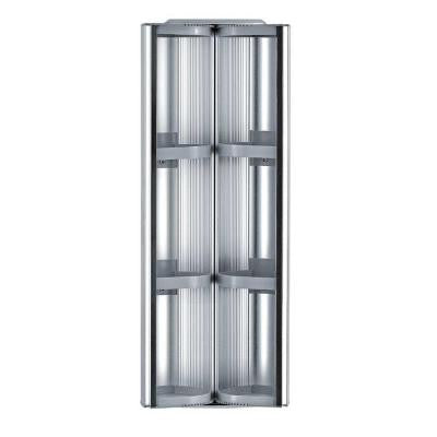 13 in. x 32 in. Surface-Mount Medicine Cabinet in Aluminum