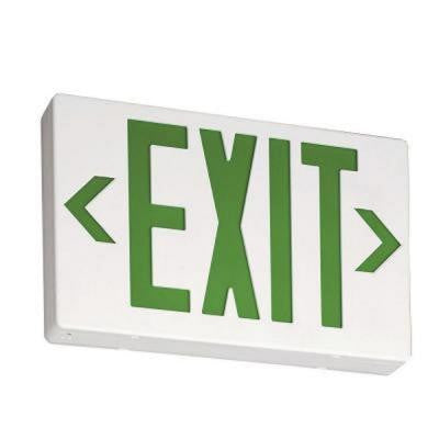 Contractor Select Polycarbonate LED Emergency Exit Sign