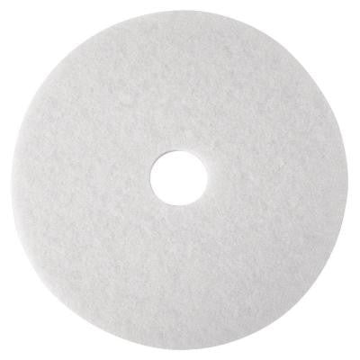 12 in. White Super Polish Pads (5 per Carton)