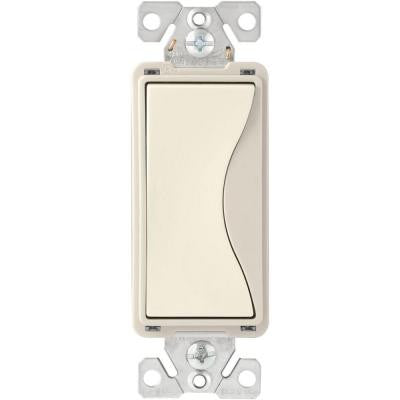 Aspire 15-Amp Back Wire/Pushwire 4-Way Switch - Desert Sand