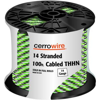100 ft. 14-3 Stranded THHN Cable