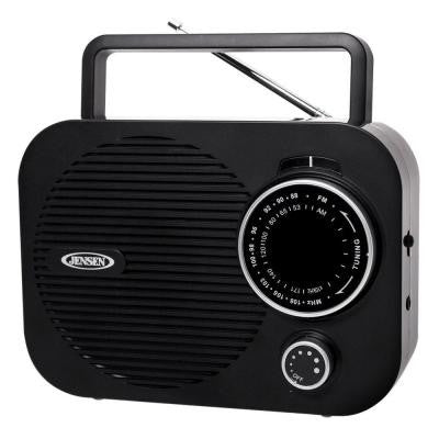 Portable AM/FM Radio - Black