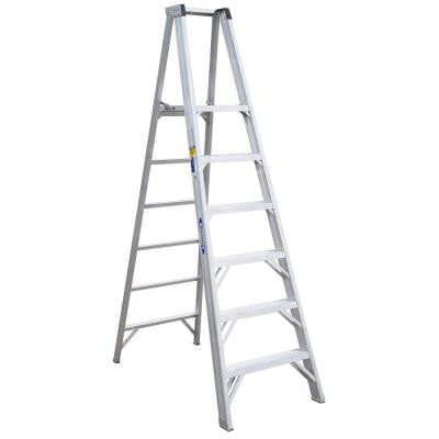 6 ft. Aluminum Platform Step Ladder with 300 lb. Load Capacity Type IA