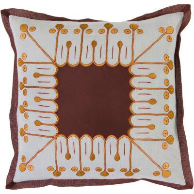 LovelyI 18 in. x 18 in. Decorative Pillow