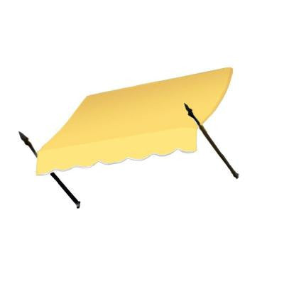50 ft. New Orleans Awning (56 in. H x 32 in. D) in Light Yellow