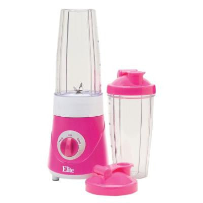 Personal Drink Mixer with 2 Travel Cups in Pink