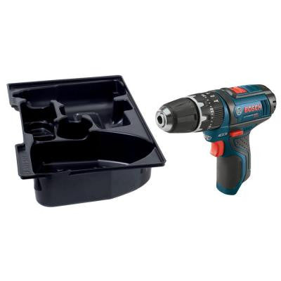 12-Volt MAX Lithium-Ion 3/8 in. Cordless Hammer Drill/Driver with Exact-Fit Insert Tray (Bare Tool)