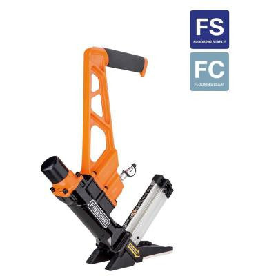 3-in-1 Pneumatic Flooring Nailer and Stapler with Quick Release