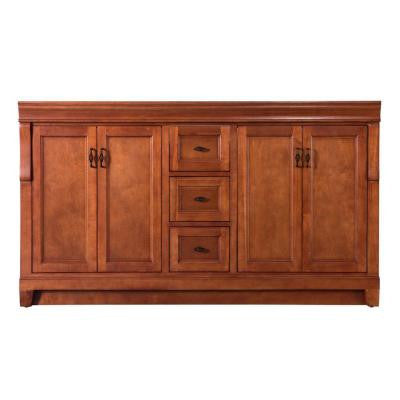 Naples 60 in. W x 21-5/8 in. D x 34 in. H Vanity Cabinet Only in Warm Cinnamon