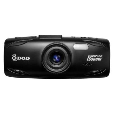 2.7 in. LCD Screen Dash Camera With GPS Support