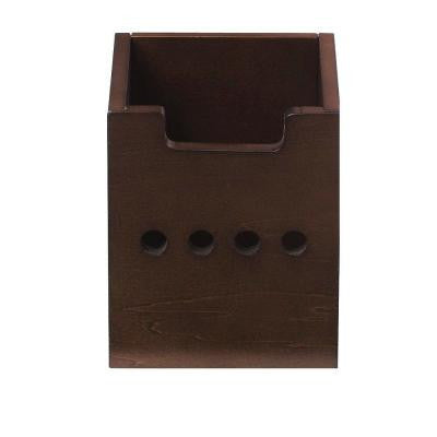 Craft Storage 2 lb. Ribbon Storage Cubby Drawer in Sequoia