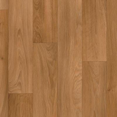 Butterscotch Oak Plank 13.2 ft. Wide Residential Vinyl Sheet x Your Choice Length