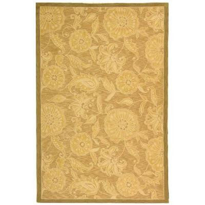 Chelsea Light Brown 6 ft. x 9 ft. Area Rug