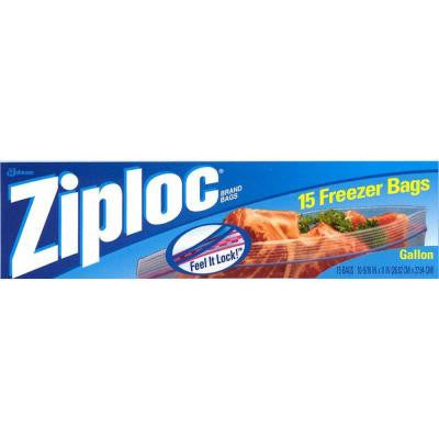 Gallon Plastic Freezer Bag 15-Bag (12-Pack)