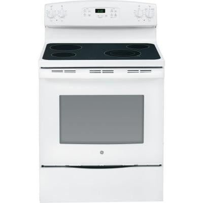 5.3 cu. ft. Electric Range in White