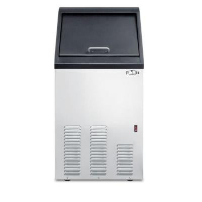 17 in. 65 lb. Built-In Icemaker in Stainless Steel