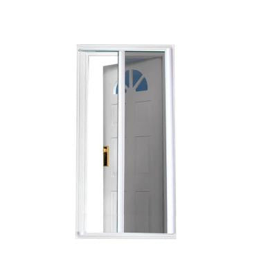 40 in. x 81.5 in. White Retractable Screen Door