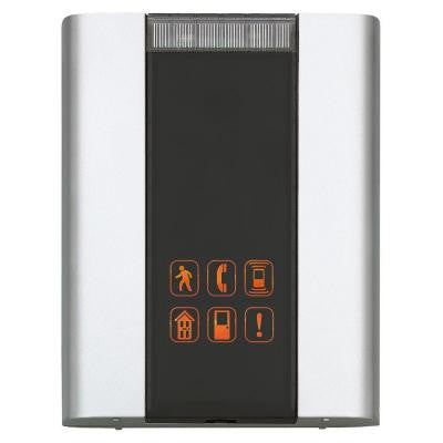 6 Tune Battery Powered Door Chime Quiet Alert with Flashing Indicator with 450 ft. Range