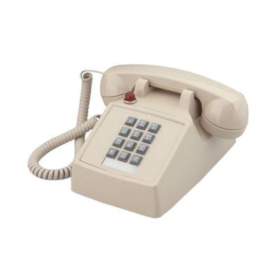 Desk Corded Telephone with Message Waiting - Ash