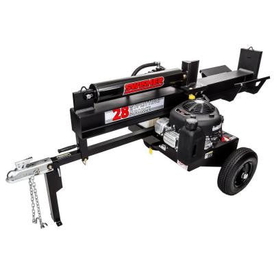 10.5 HP 28-Ton Gas Log Splitter