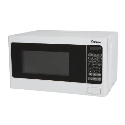 0.7 cu. ft. 700 Watt Countertop Microwave Oven in White