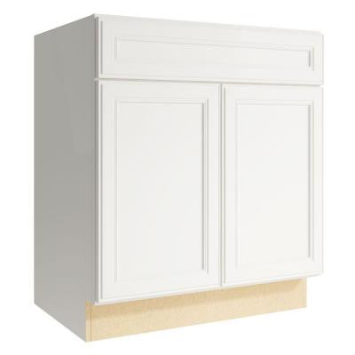 Boden 30 in. W x 34 in. H Vanity Cabinet Only in Lace