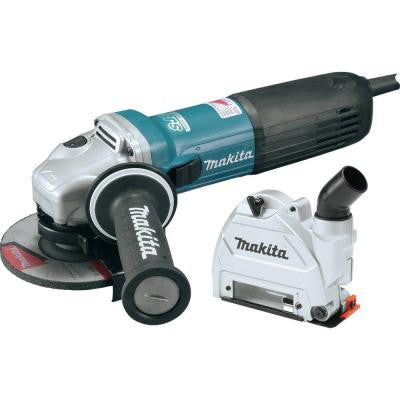 12-Amp SJS II High-Power Angle Grinder with 5 in. Tuck Point Guard