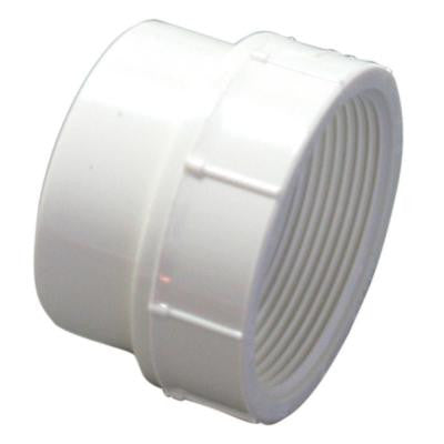 4 in. PVC DWV Street Spigot x FIPT Female Adapter