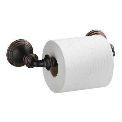 Devonshire Double Post Toilet Paper Holder in Oil-Rubbed Bronze