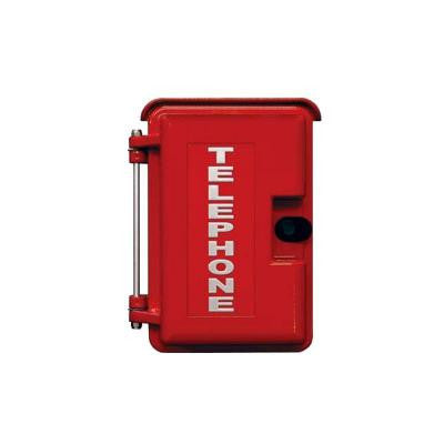 Heavy Duty Outdoor Enclosure - Red
