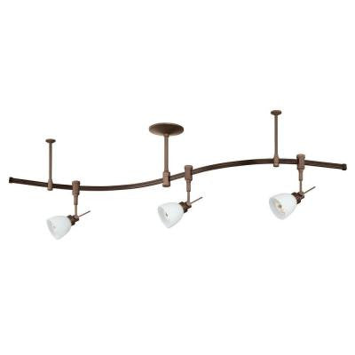 Cassiopeia 3-Light Oil Rubbed Bronze Track Lighting Kit