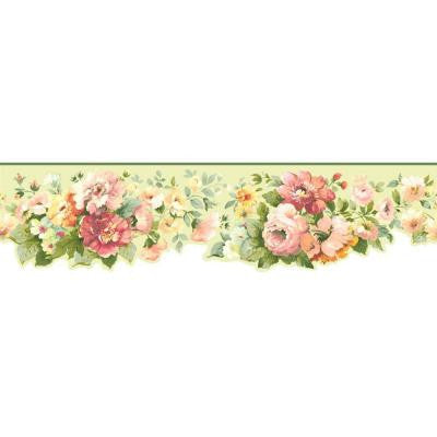 5 in. Document Floral Border