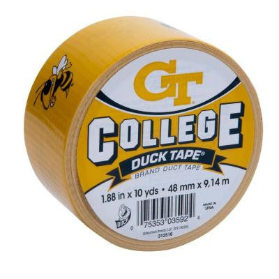 College 1-7/8 in. x 10 yds. Georgia Tech Duct Tape