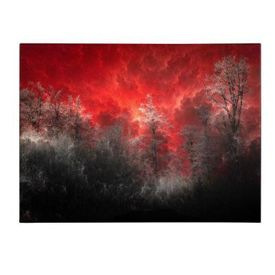22 in. x 32 in. Hot and Cold Canvas Art