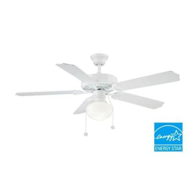 Trimount 52 in. Indoor White Ceiling Fan