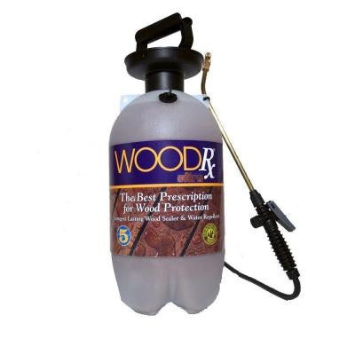 2-gal. Ultra Walnut Transparent Wood Stain/Sealer with Pump Sprayer/Fan Tip