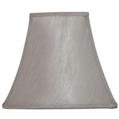 Mix and Match Bavarian Grey Square Bell Table Lamp Shade