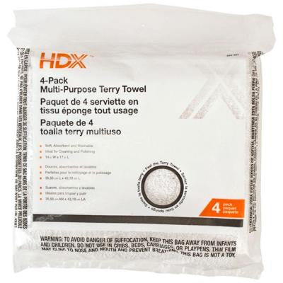 Terry Towels (4-Pack)
